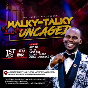 Walky Talky Uncaged Live