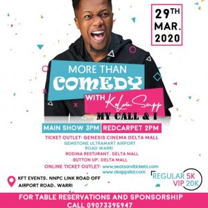 More Than Comedy With Kelvin Sapp